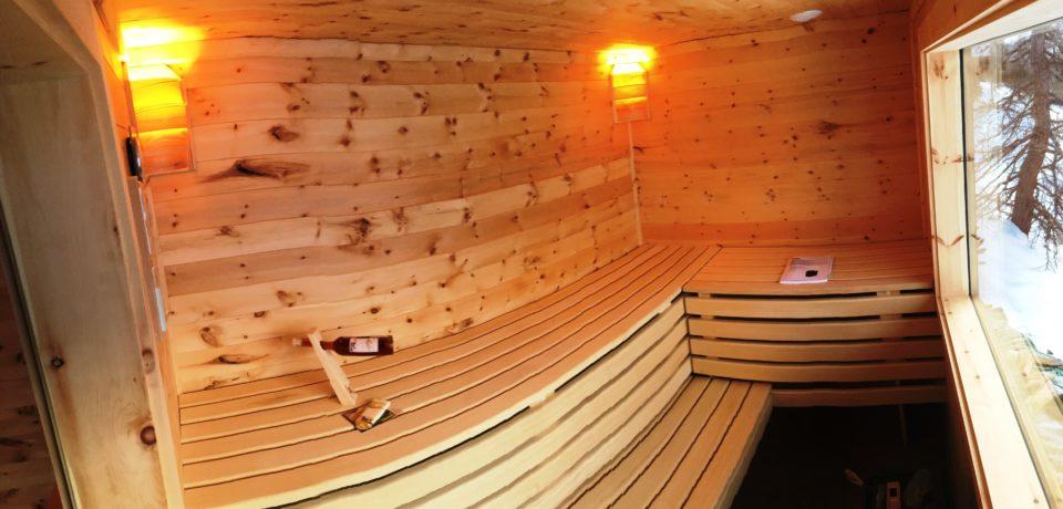 Sauna - Zirbenholz - Wellness