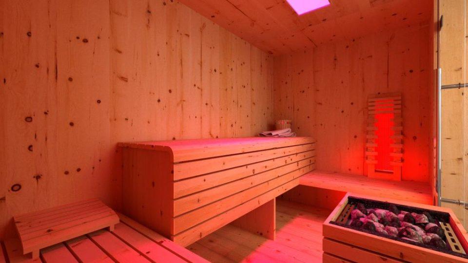 Sauna- Zirbenholz - Infrarotkabine